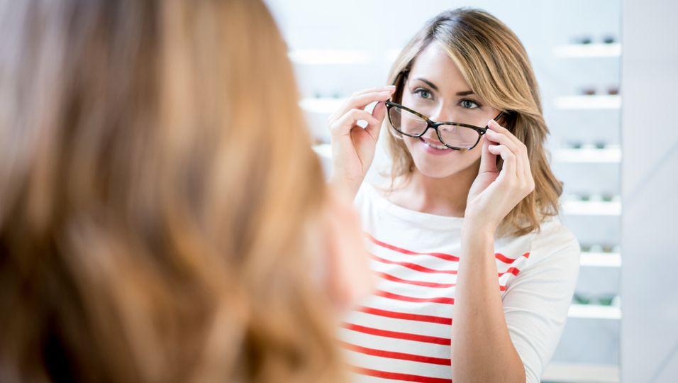 In vier Schritten zur idealen Brille