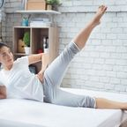 Fitnessübungen, Sport im Bett, Fitnessübungen im Bett