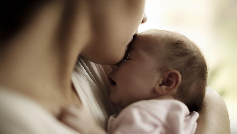 Mutte mit Baby