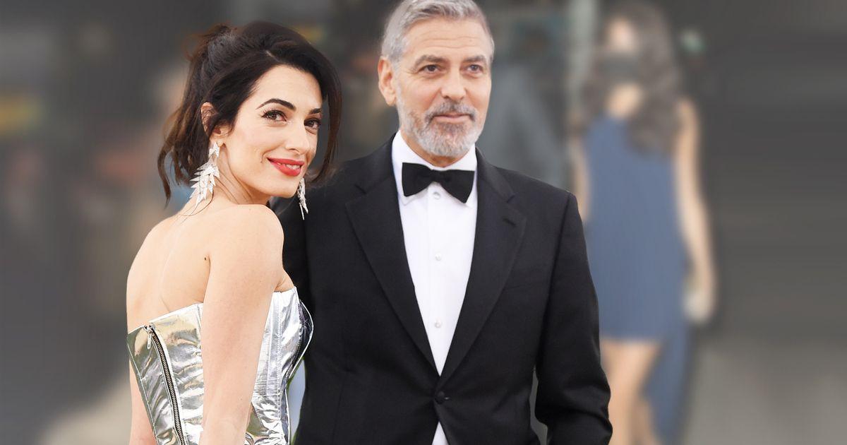 George & Amal Clooney: Alle schauen nur auf die Zwillingsmama