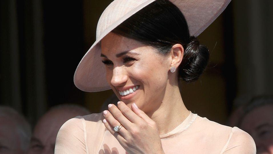 Hochzeit & Taufe: Diese Ohrringe haben eine besondere Bedeutung für Meghan!