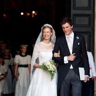 Prinz Amedeo von Belgien und Prinzessin Elisabetta Maria Rosboch von Wolkenstein