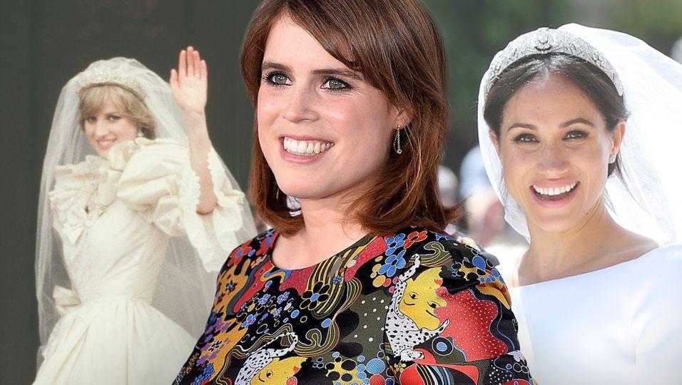 Inspiration für Eugenie: die schönsten royalen Bräute des Königshauses