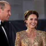 Herzogin Kate und Prinz William gaben sich locker.
