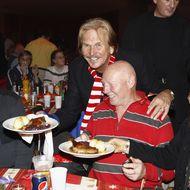 Frank Zander veranstaltet Festessen für Obdachlose.
