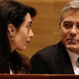 """Amal sagte: """"Das war's"""""""