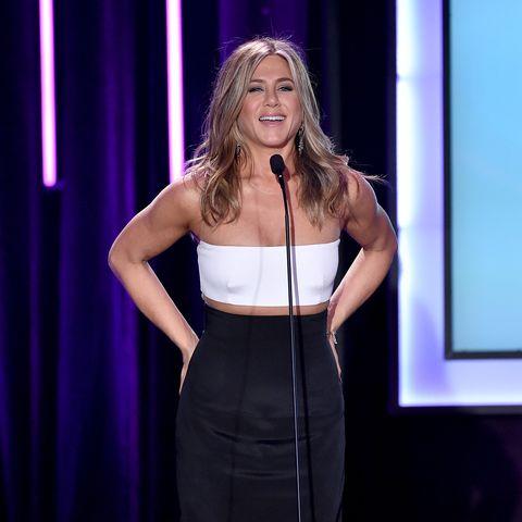 Schön in Schwarz-Weiß: Jennifer Aniston.