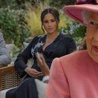 Queen Elizabeth II., Prinz Harry, Herzogin Meghan
