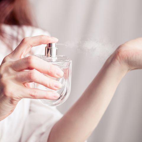 Duft Parfum am Handgelenk