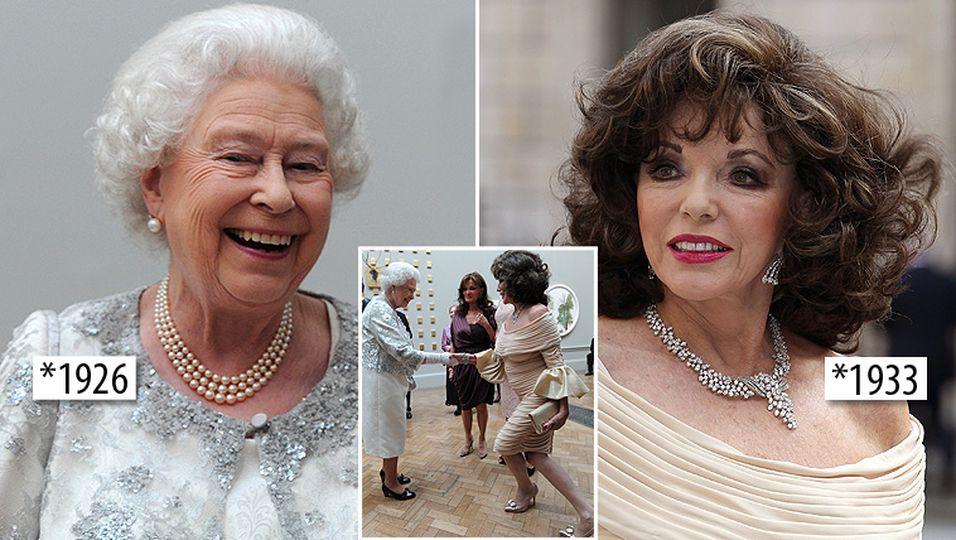 Queen Elizabeth II. & Joan Collins: Sie trennen nur sieben Jahre!