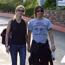 Heidi Klum und Anthony Kiedis
