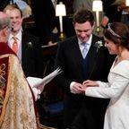 Die romantische Hochzeit von Prinzessin Eugenie und ihrem Jack