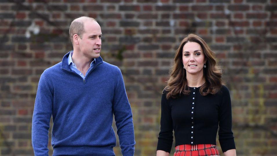 Prinz William und Herzogin Kate - 5 Geheimnisse über ihren Kensington Palast