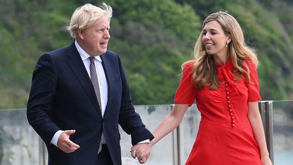 Das ist die Frau von Boris