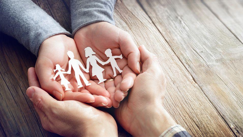 Symbolbild für Familienzusammenhalt