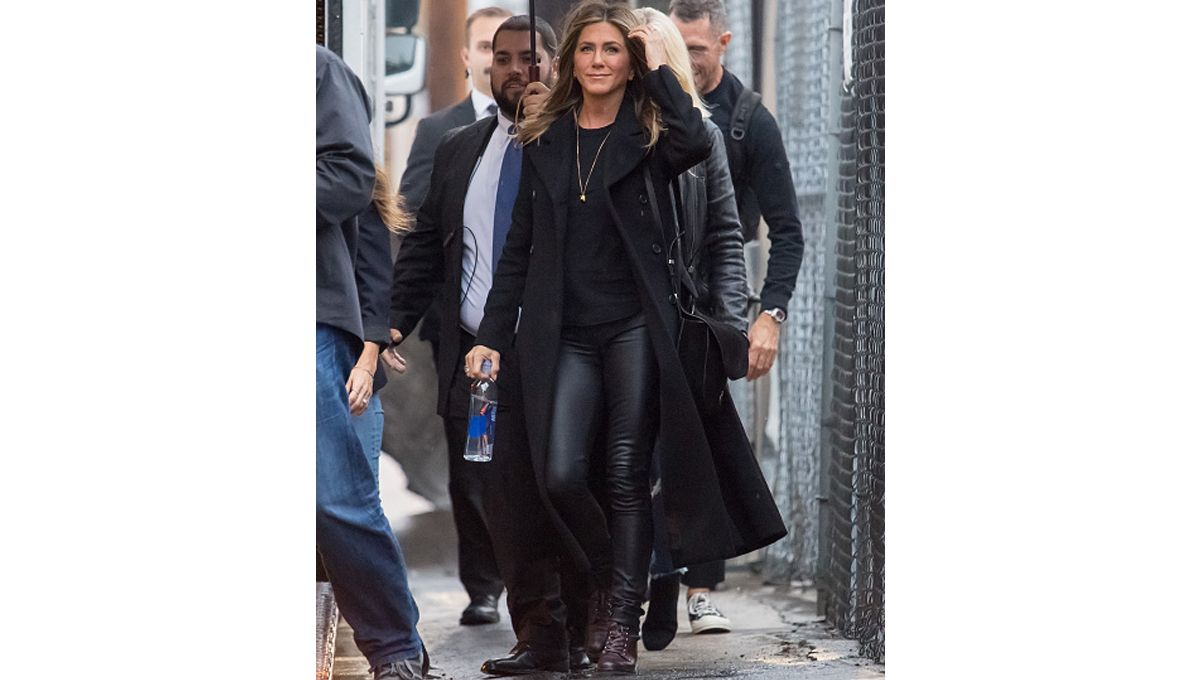 Jennifer Aniston All Black Outfit