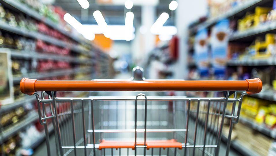 Einkaufswagen, Supermarkt, Lebensmittel, Tricks