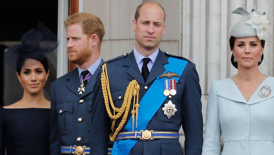 Prinz William & Herzogin Kate: Keine Chance auf Versöhnung mit Harry und Meghan