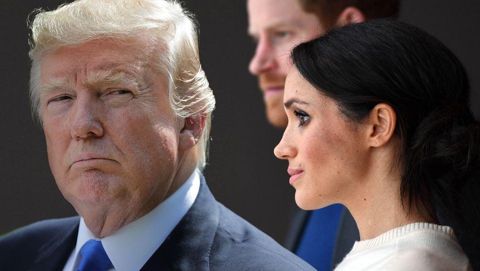 """Donald Trump wünscht Harry Glück mit ihr: """"Er braucht es"""""""