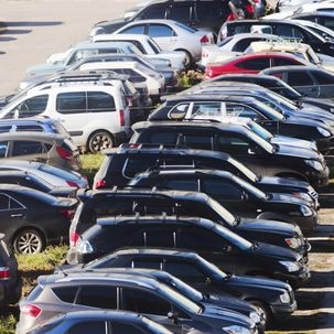 Parkplatz   Wie Sie sich richtig verhalten
