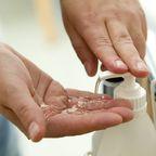 Desinfektion der Hände