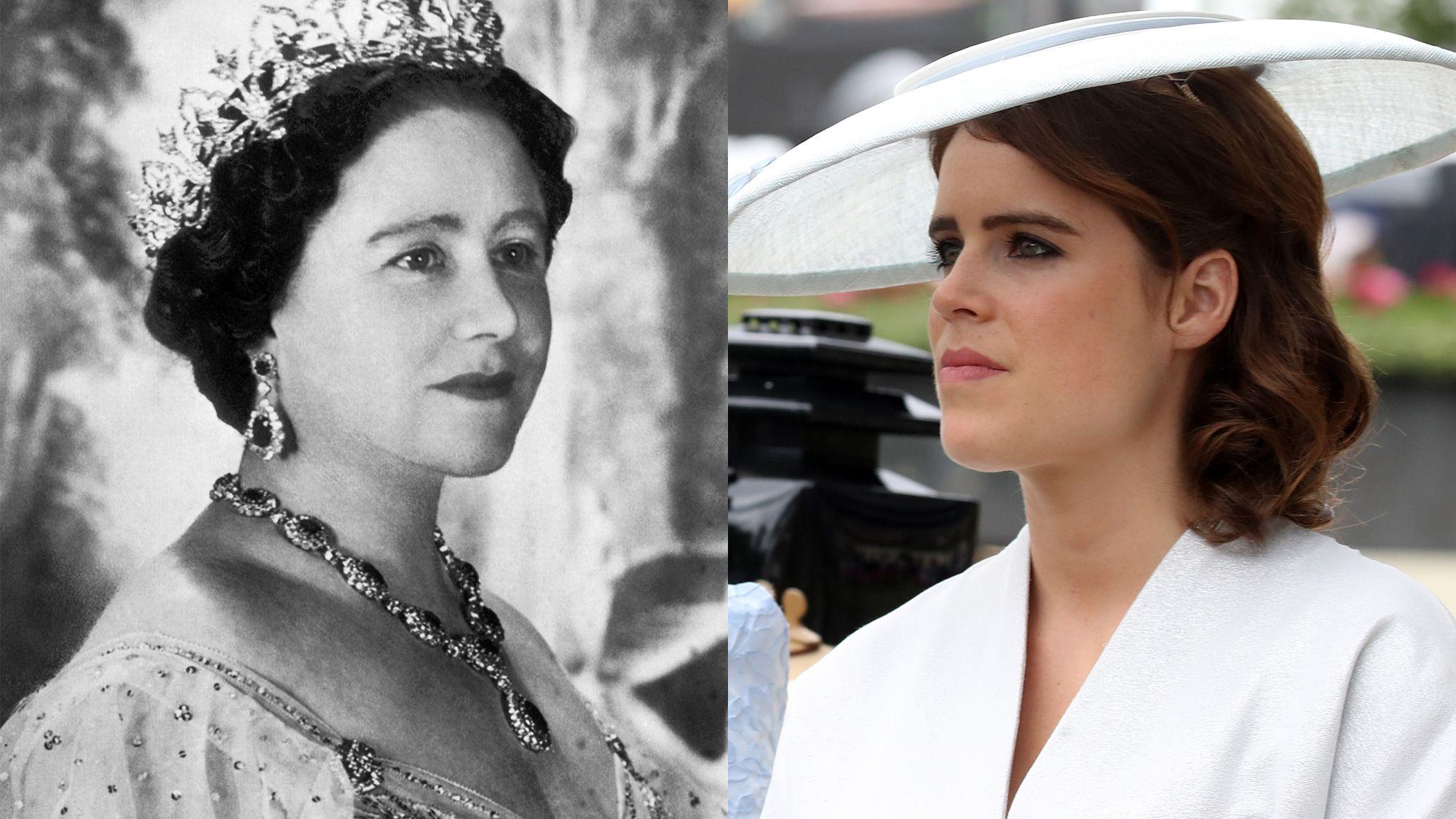 Eugenie und Queen Mum