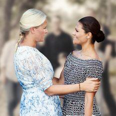 Victoria von Schweden & Mette-Marit von Norwegen: Gemeinsamer Familienausflug – und die Kids sind auch dabei