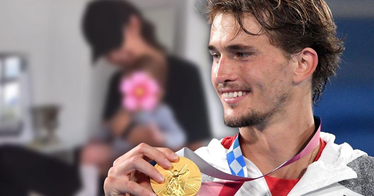 """Alexander Zverev: Olympia-Gold """"für meine Familie, meine Eltern, meinen Bruder, meine Tochter"""""""