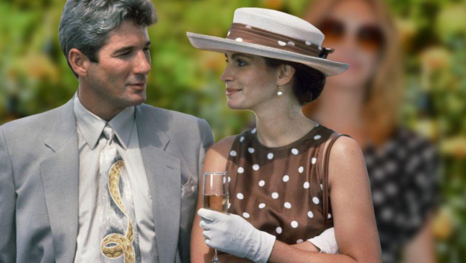 """Wie einst in """"Pretty Woman"""": im Pünktchen-Look zum Polo"""