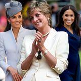 Prinzessin Diana & Kate & Meghan: So ebnete sie Meghan Markle und Kate Middleton den Weg