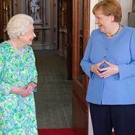 Queen Elizabeth II und Angela Merkel