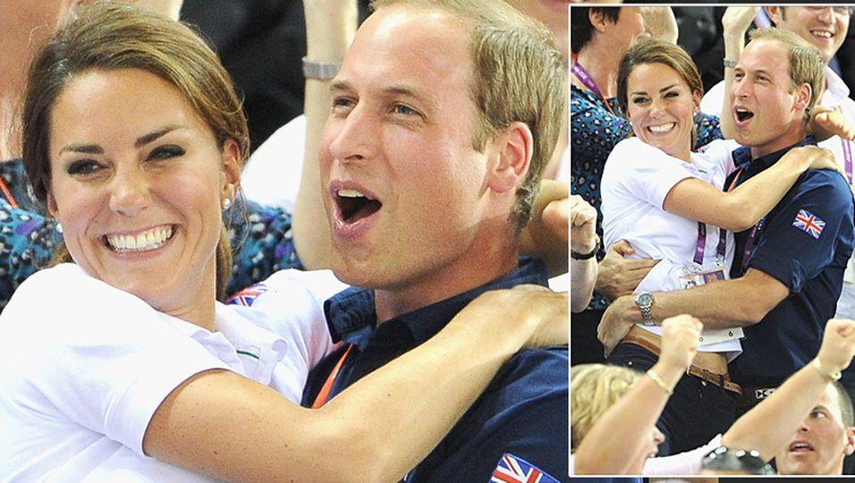 Kate, William, Olympia