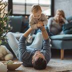 Eltern glücklich