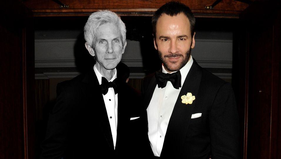 Tom Ford: Der Modedesigner  trauert um Ehemann Richard Buckley (†72)