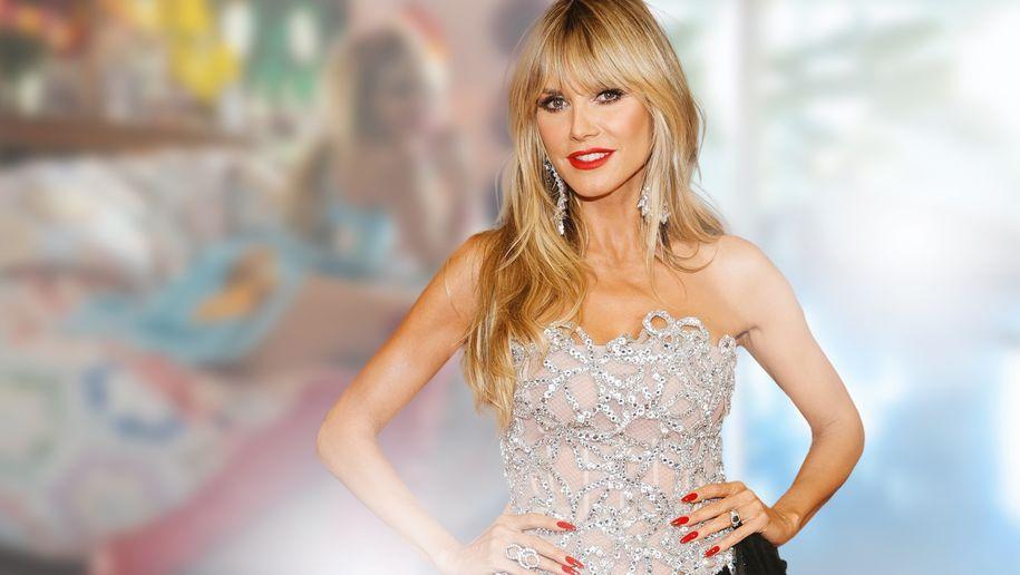 Mini-Kleid & Mega-Heels: So schaut das Topmodel TV