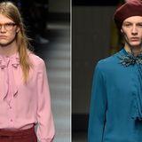 Gucci ruft eine neue Weiblichkeit in der Männermode aus.