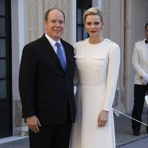 Charlene con Monaco, Albert von Monaco