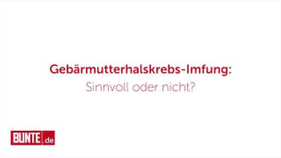 Gebärmutterhalskrebs-Impfung: Ja oder Nein?