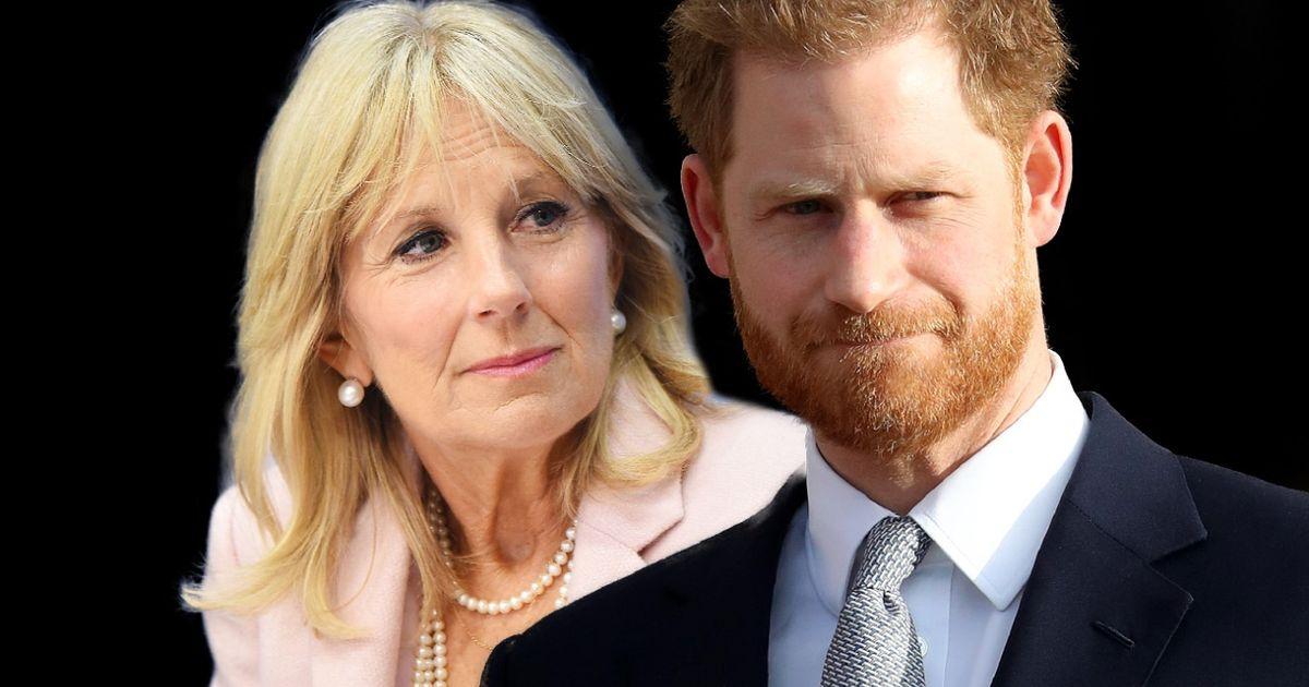 Prinz Harry: Auftritt mit Jill Biden – und ihre Worte bewegen