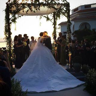 Für immer dein: Am Samstag heirateten Nell Diamond und Teddy Wasserman in Südfrankreich.