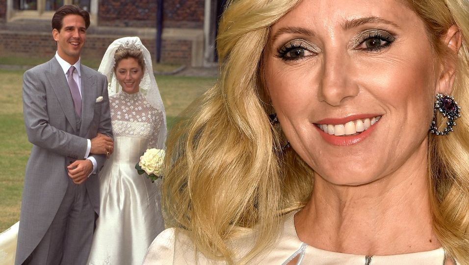 Luxus-Braut: Seiden-Korsett, Blüten-Applikationen & 4-Meter-Schleier