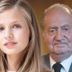 Leonor von Spanien, Juan Carlos von Spanien
