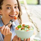 Gesund essen Frau