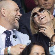 Zara Phillips und Mike Tindall