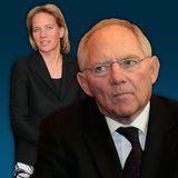 Christine Strobl und Wolfgang Schäuble