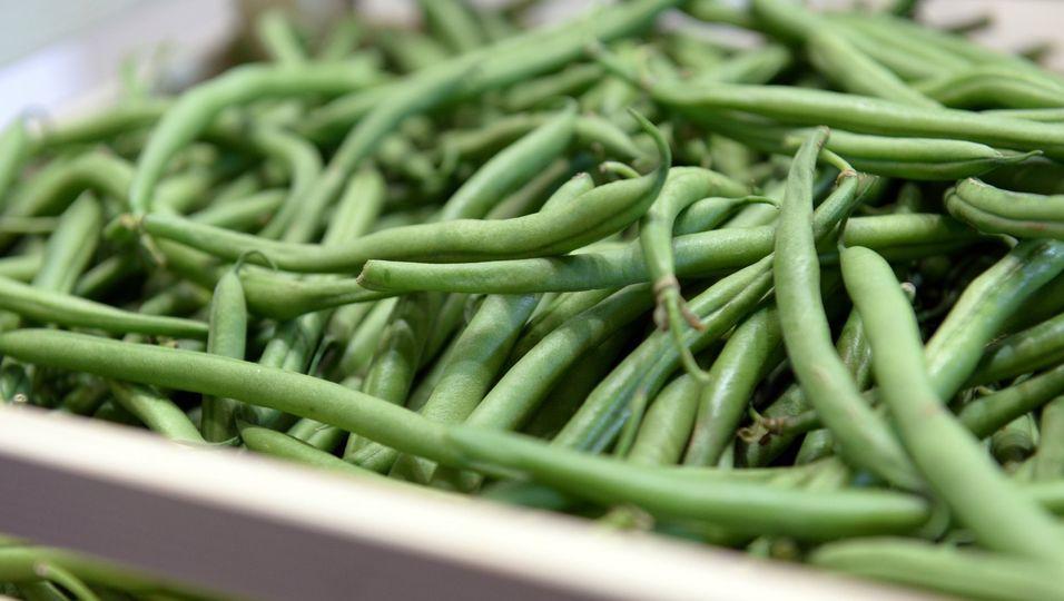 Grüne Bohnen passen zu Salaten oder auch zu Fleisch - und sie sind reich an Mineralstoffen.