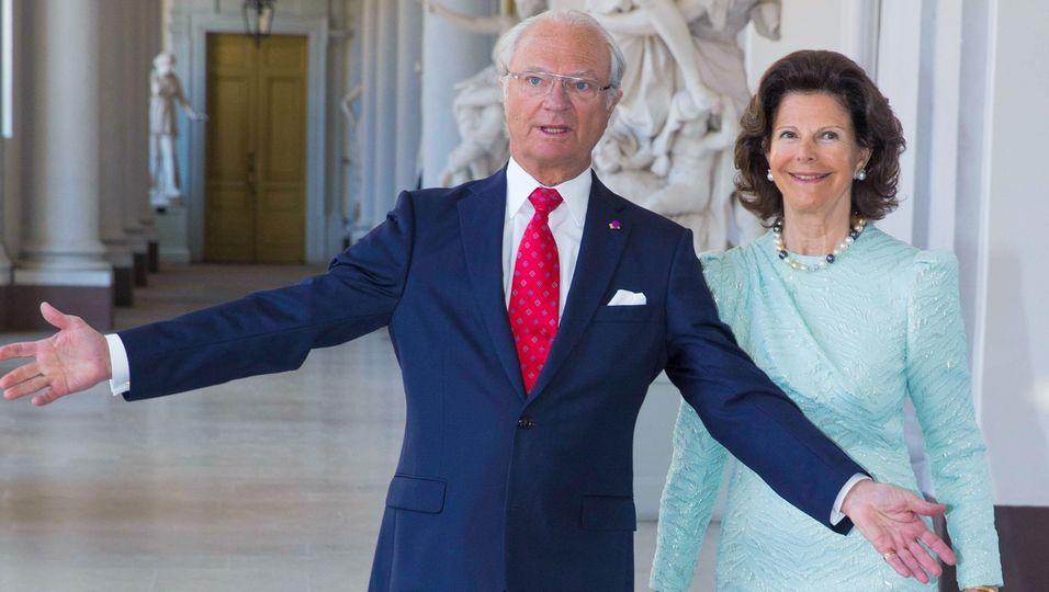 Sie öffnen ihre Tore: So sieht es im Stockholmer Schloss aus