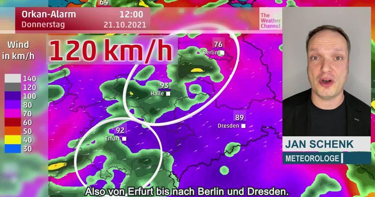 Böen bis 120 km/h und Sturmflut! Gefährlicher Orkan zieht auf