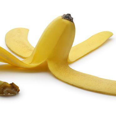 Bananenschale essen ist gesund