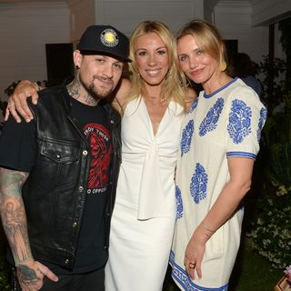 Benji Madden, Cameron Diaz, Vicky Vlachonis (Celebrating The launch Of The Body Doesn't Lie By Vicky Vlachonis - Los Angeles)